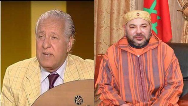 """Les condoléances du Roi à la famille et aux admirateurs de feu Mahmoud El Idrissi, """"l'un des pionniers de la chanson marocaine"""""""
