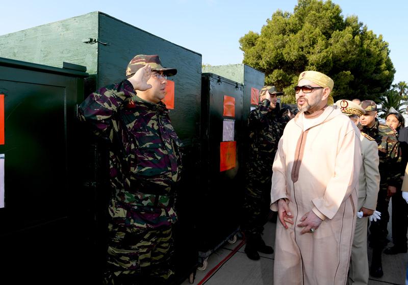 Le Roi ordonne l'envoi d'une aide humanitaire d'urgence au profit de la population palestinienne en Cisjordanie et dans la bande de Gaza