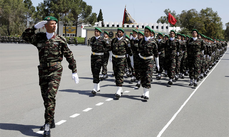 1ère Brigade d'infanterie parachutiste: Les soldats d'élite ont fière allure