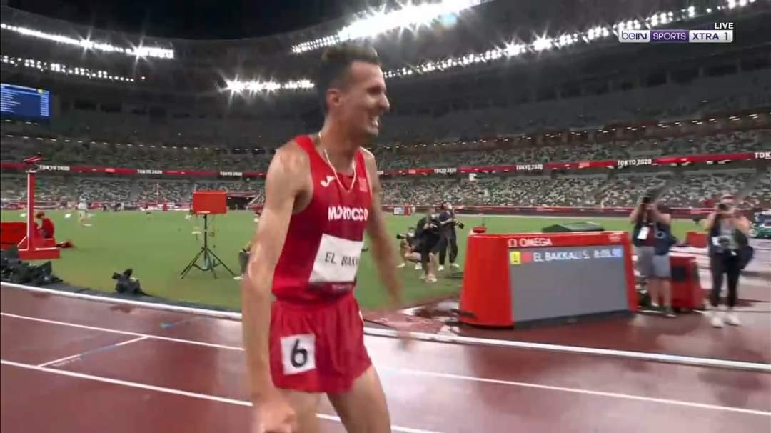 La première réaction de Soufiane El Bakkali, après son sacre olympique